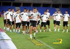 تدريبات المنتخب المغربي