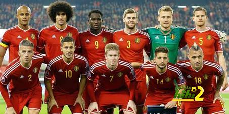 منتخب بلجيكا يواصل تربعه على قائمة أفضل منتخبات العالم هاي كورة