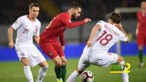 فيديو:البرتغال تسقط في فخ التعادل أمام بولندا بدوري الأمم الأوروبية